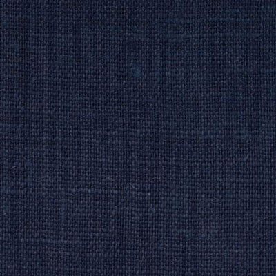 Irish Dark Navy Blue 12 - 100% Linen 5.5 Oz (Light/Medium Weight | 56 Inch Wide | Extra Soft) Solid