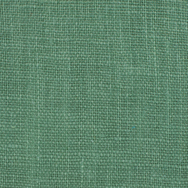 SAMPLE - Irish Green 11 - 100% Linen 5.5 Oz (Light/Medium Weight | 56 Inch Wide | Extra Soft) Solid