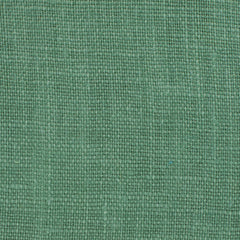 SAMPLE - Irish Green 11 - 100% Linen 5.5 Oz (Light/Medium Weight | 56 Inch Wide | Pre Washed-Extra Soft) Solid