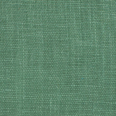 Promotional End Cut-Irish Green 11- Fabric 100% Linen 5.5 Oz (Light/Medium Weight | 56 Inch Wide | Pre Washed-Extra Soft)