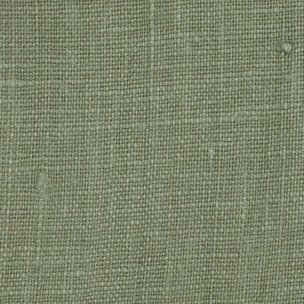 SAMPLE - Irish Green 12 - 100% Linen 5.5 Oz (Light/Medium Weight | 56 Inch Wide | Pre Washed-Extra Soft) Solid