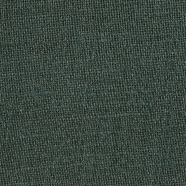 Promotional End Cut-Irish Green 13 - Fabric 100% Linen 5.5 Oz (Light/Medium Weight | 56 Inch Wide | Pre Washed-Extra Soft)