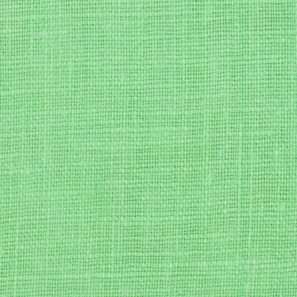 SAMPLE - Irish Green 5 - 100% Linen 5.5 Oz (Light/Medium Weight | 56 Inch Wide | Pre Washed-Extra Soft) Solid