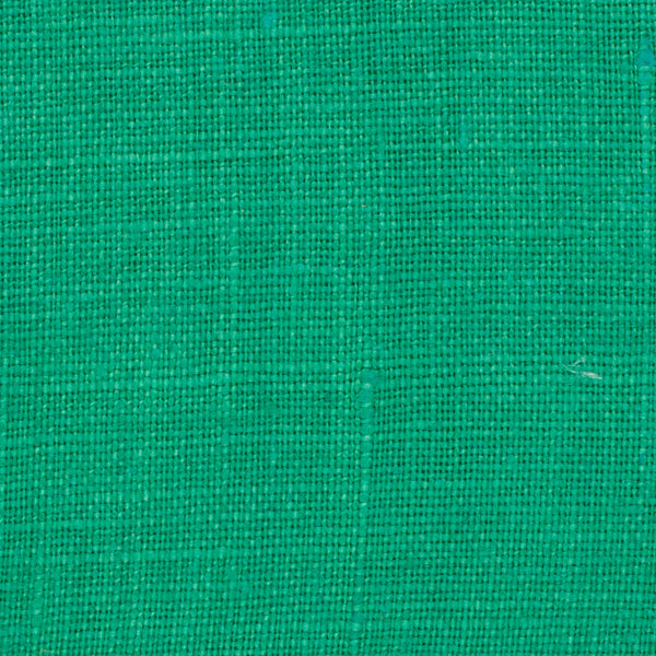 SAMPLE - Irish Green 8 - 100% Linen 5.5 Oz (Light/Medium Weight | 56 Inch Wide | Pre Washed-Extra Soft) Solid