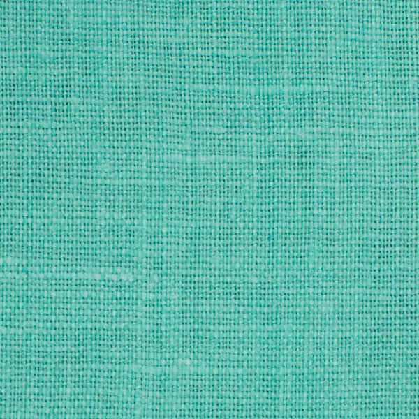 SAMPLE - Irish Green 9 - 100% Linen 5.5 Oz (Light/Medium Weight | 56 Inch Wide | Pre Washed-Extra Soft) Solid