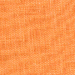 SAMPLE - Irish Orange 1 - 100% Linen 5.5 Oz (Light/Medium Weight | 56 Inch Wide | Pre Washed-Extra Soft) Solid
