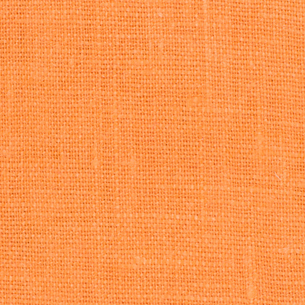 Irish Orange 1 - 100% Linen 5.5 Oz (Light/Medium Weight | 56 Inch Wide | Extra Soft) Solid