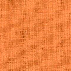 SAMPLE - Irish Orange 2 - 100% Linen 5.5 Oz (Light/Medium Weight | 56 Inch Wide | Pre Washed-Extra Soft) Solid