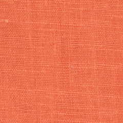SAMPLE - Irish Orange 3 - 100% Linen 5.5 Oz (Light/Medium Weight | 56 Inch Wide | Pre Washed-Extra Soft) Solid