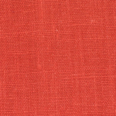 Irish Orange 4 - 100% Linen 5.5 Oz (Light/Medium Weight | 56 Inch Wide | Pre Washed-Extra Soft) Solid