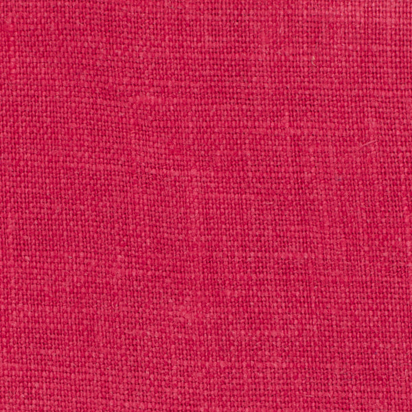 SAMPLE - Irish Red 1 - 100% Linen 5.5 Oz (Light/Medium Weight | 56 Inch Wide | Extra Soft) Solid