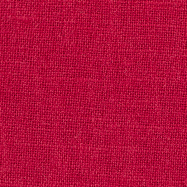 SAMPLE - Irish Red 3 - 100% Linen 5.5 Oz (Light/Medium Weight | 56 Inch Wide | Extra Soft) Solid