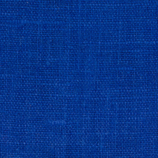 SAMPLE - Irish Royal Blue 10 - 100% Linen 5.5 Oz (Light/Medium Weight | 56 Inch Wide | Extra Soft) Solid