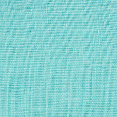 SAMPLE - Irish Turquoise Blue 3 - 100% Linen 5.5 Oz (Light/Medium Weight | 56 Inch Wide | Pre Washed-Extra Soft) Solid