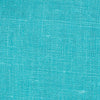 SAMPLE - Irish Turquoise Blue 5 - 100% Linen 5.5 Oz (Light/Medium Weight | 56 Inch Wide | Pre Washed-Extra Soft) Solid