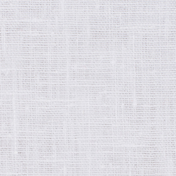 SAMPLE - Irish White 1 - 100% Linen 5.5 Oz (Light/Medium Weight | 56 Inch Wide | Pre Washed-Extra Soft) Solid