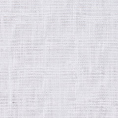 SAMPLE - Irish White 1 - 100% Linen 5.5 Oz (Light/Medium Weight | 56 Inch Wide | Extra Soft) Solid