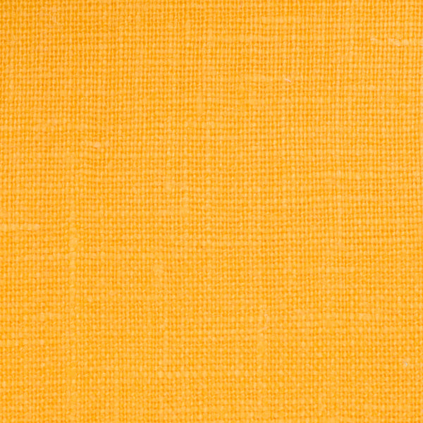 SAMPLE - Irish Yellow 5 - 100% Linen 5.5 Oz (Light/Medium Weight | 56 Inch Wide | Pre Washed-Extra Soft) Solid
