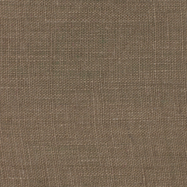 SAMPLE - Italy Brown 1 - 100% Linen 3.5 Oz (Light/Medium Weight | 56 Inch Wide | Pre Washed-Extra Soft) Solid | By Linen Fabric Store Online