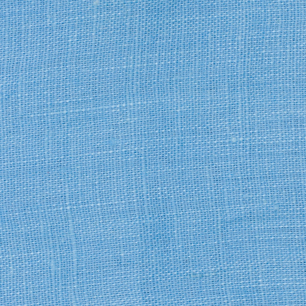 SAMPLE - Italy Jeans Blue 3 - 100% Linen 3.5 Oz (Light/Medium Weight | 56 Inch Wide | Extra Soft) Solid | By Linen Fabric Store Online