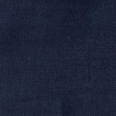 SAMPLE - Italy Navy Blue 6 - 100% Linen 3.5 Oz (Light/Medium Weight | 56 Inch Wide | Extra Soft) Solid | | By Linen Fabric Store Online By Linen Fabric Store Online