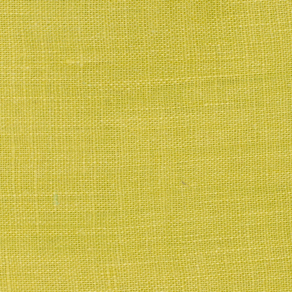 SAMPLE - Italy Neon Green 5 - 100% Linen 3.5 Oz (Light/Medium Weight | 56 Inch Wide | Pre Washed-Extra Soft) Solid | By Linen Fabric Store Online
