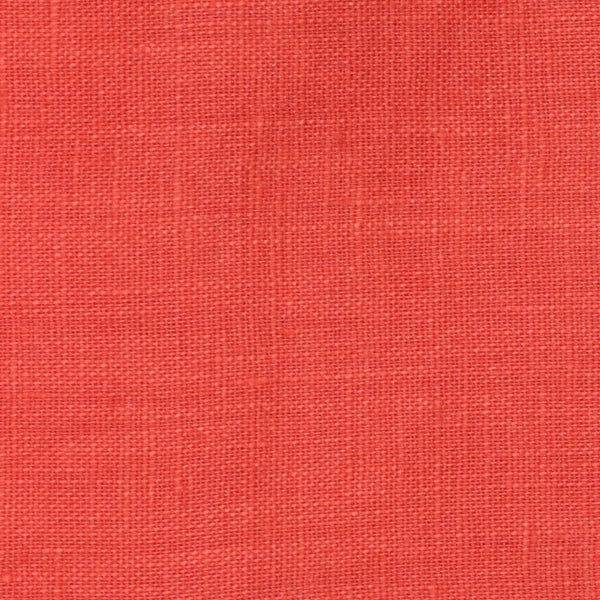 Italy Red 1 - 100% Linen 3.5 Oz (Light/Medium Weight | 56 Inch Wide | Extra Soft) Solid | By Linen Fabric Store Online