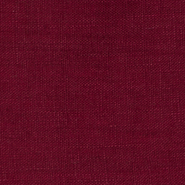 SAMPLE - Italy Red 4 - 100% Linen 3.5 Oz (Light/Medium Weight | 56 Inch Wide | Pre Washed-Extra Soft) Solid | By Linen Fabric Store Online