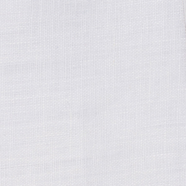 SAMPLE - Italy White 1 - 100% Linen 3.5 Oz (Light/Medium Weight | 56 Inch Wide | Pre Washed-Extra Soft) Solid | By Linen Fabric Store Online
