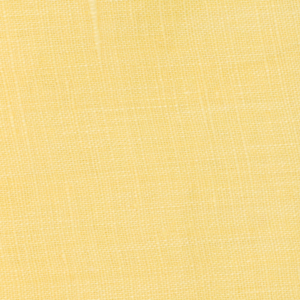 SAMPLE - Italy Yellow 3 - 100% Linen 3.5 Oz (Light/Medium Weight | 56 Inch Wide | Extra Soft) Solid | By Linen Fabric Store Online