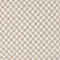 SAMPLE - Persian Natural Brown Off White 1 Linen Cotton 10 Oz (Heavy/Medium Weight | 54 Inch Wide | Medium Soft) Burlap