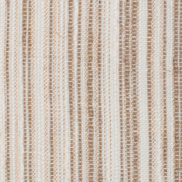 Spain14 Natural Brown Off White 1 Linen Polyester 6 Oz (Medium Weight | 114 Inch Wide | Medium Soft) Wide Width Yarn Dye