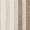 SAMPLE - Spain15 Natural Brown Off White 1 Linen Polyester 5.5 Oz (Light/Medium Weight | 114 Inch Wide | Medium Soft) Wide Width Yarn Dye