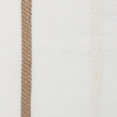 Spain22 Natural Brown Off White 1 - 100% Linen 3.8 Oz (Light/Medium Weight | 114 Inch Wide | Medium Soft) Wide Width Yarn Dye