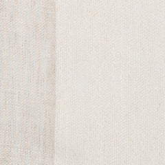 SAMPLE - Spain23 Natural Brown Off White 1 - 100% Linen 5.3 Oz (Light/Medium Weight | 114 Inch Wide | Medium Soft) Wide Width Yarn Dye