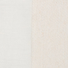 SAMPLE - Spain24 Off White White 1 - 100% Linen 5.3 Oz (Light/Medium Weight | 114 Inch Wide | Medium Soft) Wide Width Yarn Dye
