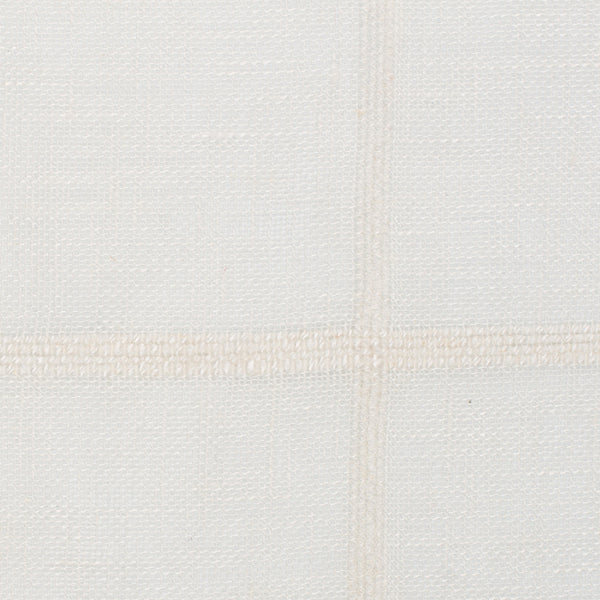 Spain25 Off White White 1 - 100% Linen 3.5 Oz (Light/Medium Weight | 114 Inch Wide | Medium Soft) Wide Width Yarn Dye