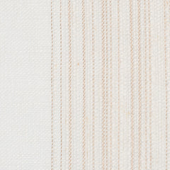 SAMPLE - Spain5 Off White 1 Linen Polyester 3.8 Oz (Light/Medium Weight | 114 Inch Wide | Medium Soft) Wide Width Yarn Dye