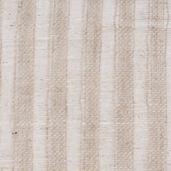 SAMPLE - Swedish1 Natural Brown 1 - 100% Linen 3.8 Oz (Light/Medium Weight | 114 Inch Wide | Medium Soft) Wide Width Yarn Dye