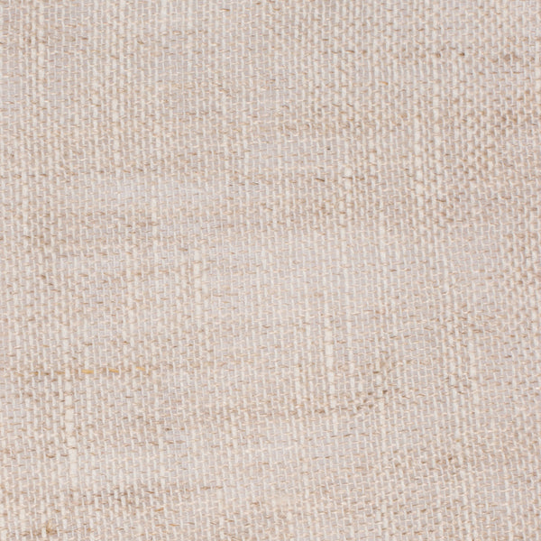 SAMPLE - Swedish10 Natural Brown Off White 1 - 100% Linen 3 Oz (Light/Medium Weight | 124 Inch Wide | Medium Soft) Wide Width Yarn Dye