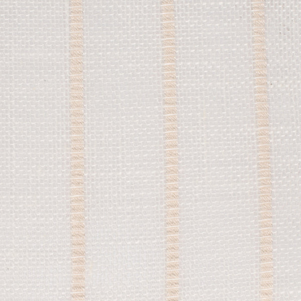 SAMPLE - Swedish14 Off White Bronze 1 - 100% Linen 3.8 Oz (Light/Medium Weight | 114 Inch Wide | Medium Soft) Wide Width Yarn Dye
