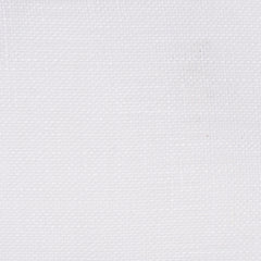 SAMPLE - Swedish16 White 1 - 100% Linen 3 Oz (Light/Medium Weight | 107 Inch Wide | Medium Soft) Wide Width Yarn Dye