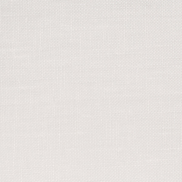 SAMPLE - Swedish18 Off White 1 - 100% Linen 4.5 Oz (Light/Medium Weight | 110 Inch Wide | Medium Soft) Wide Width Yarn Dye