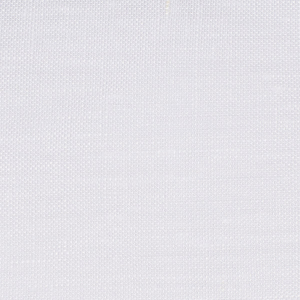 Swedish18 White 1 - 100% Linen 4.5 Oz (Light/Medium Weight | 110 Inch Wide | Medium Soft) Wide Width Yarn Dye