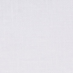 SAMPLE - Swedish19 White 1 - 100% Linen 5.5 Oz (Light/Medium Weight | 110 Inch Wide | Medium Soft) Wide Width Yarn Dye