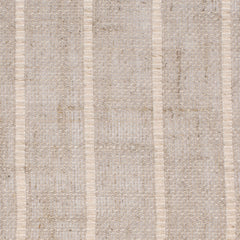 SAMPLE - Swedish2 Natural Brown Off White 1 Linen Cotton 3.8 Oz (Light/Medium Weight | 114 Inch Wide | Medium Soft) Wide Width Yarn Dye