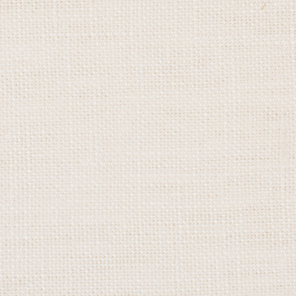 SAMPLE - Swedish20 Off White 1 - 100% Linen 6.5 Oz (Medium Weight | 110 Inch Wide | Medium Soft) Wide Width Yarn Dye