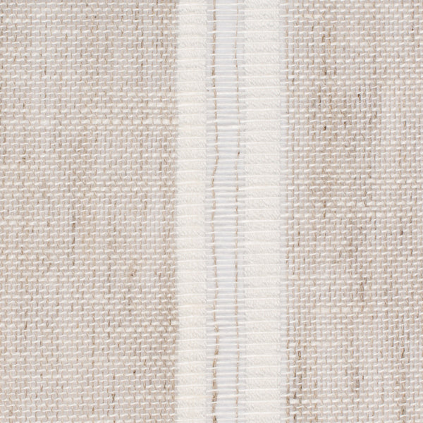 Swedish8 Natural Brown White 1 Linen Cotton 4 Oz (Light/Medium Weight | 114 Inch Wide | Medium Soft) Wide Width Yarn Dye