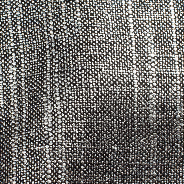 Swiss Silver Black 1 Linen Cotton 8 Oz (Medium Weight | 53 Inch Wide | Extra Soft)