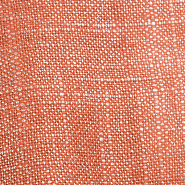 Swiss Silver Orange 1 Linen Cotton 8 Oz (Medium Weight | 53 Inch Wide | Extra Soft)